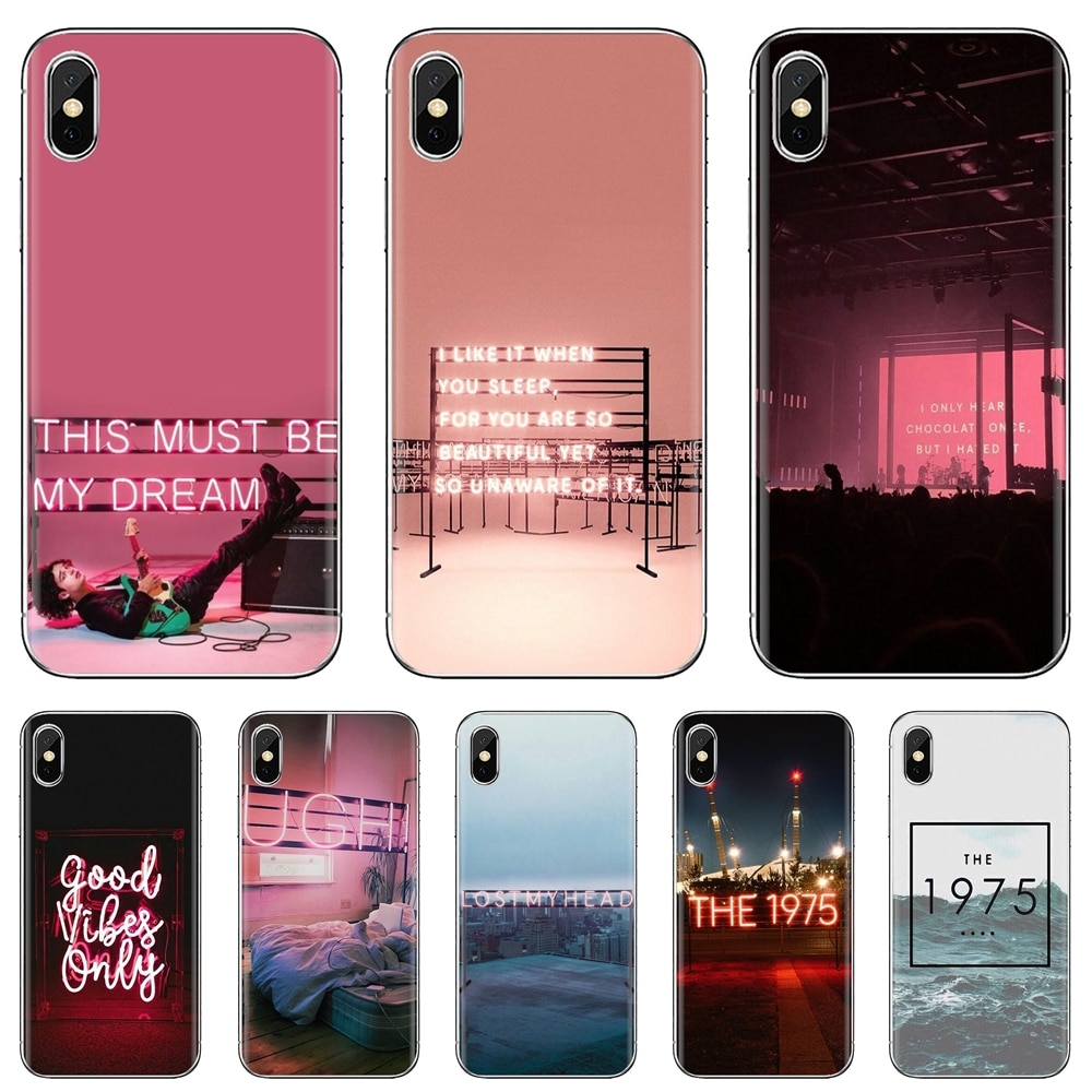 The 1975 Songs Silicone Bag Case For Huawei P8 P9 P10 P20 P30 P Smart 2019 Honor Mate 9 10 20 8X 7A