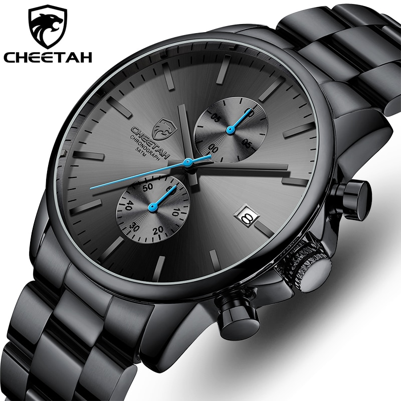 Watches for Men Warterproof Sports Mens Watch CHEETAH Top Brand Luxury Clock Male Business Quartz Wr