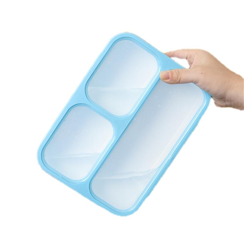 HAP 1000 مللي قسم مانعة للتسرب علب الاغذية الميكروويف بينتو صندوق BPA الحرة الغذاء الحاويات الكبار سيدة طفل صندوق الغداء