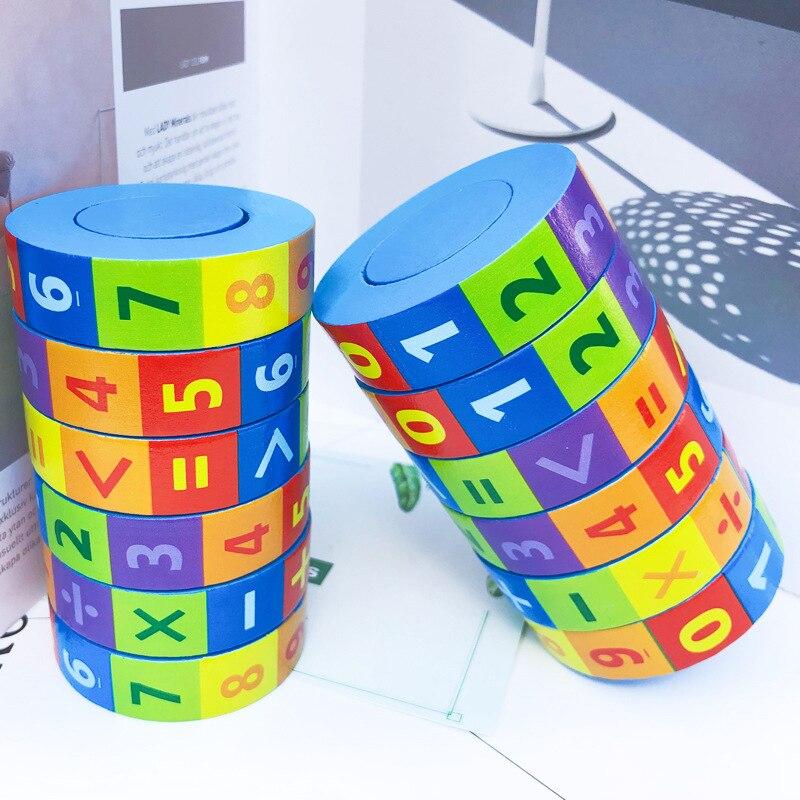 Обучающие деревянные математические игрушки Монтессори, материалы для раннего обучения детей, подсчет чисел, интеллектуальное обучение