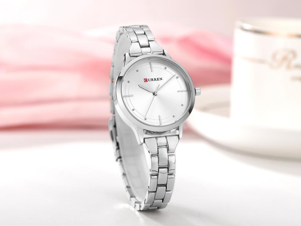 CURREN Women Watches Top Brand Classic Elegant Design Quartz Ladies Wrist Watches Stainless Steel Water Resistant Zegarek Damski enlarge