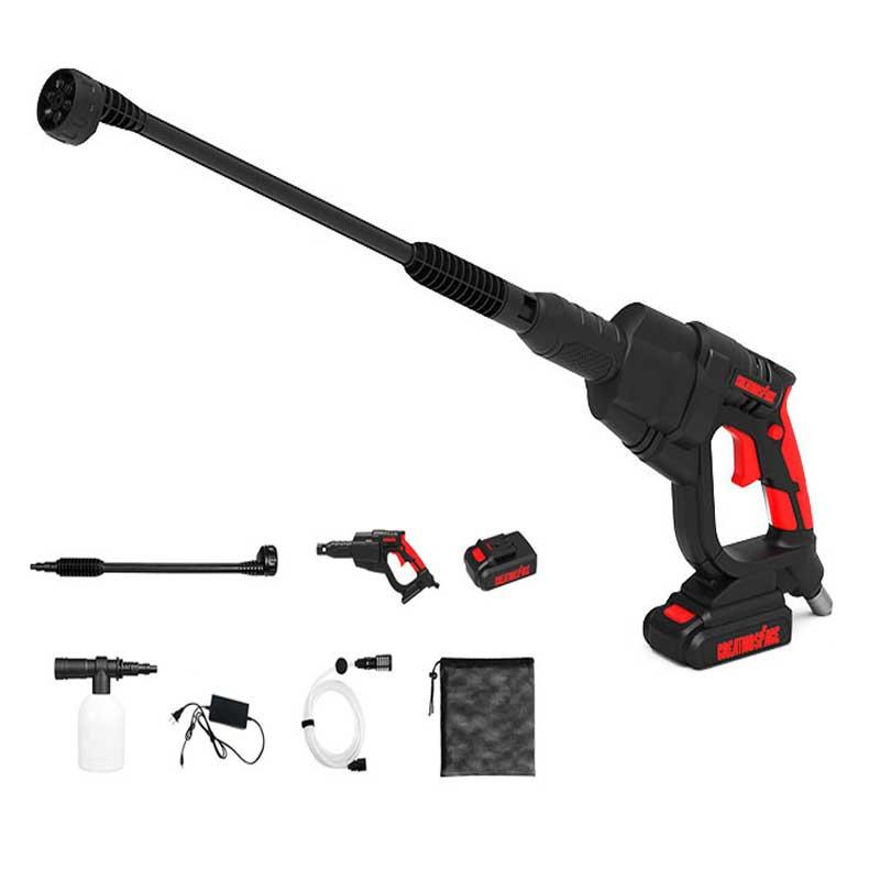 Electric Car Wash Washer Gun Portable High Pressure Wireless Rechargable Mufti-Functional Cleaner Foam Gun Spray
