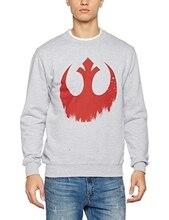 Star Wars-gwiezdne wojny znajdujących się w trudnej sytuacji Rebel Logo Felpa Uomo