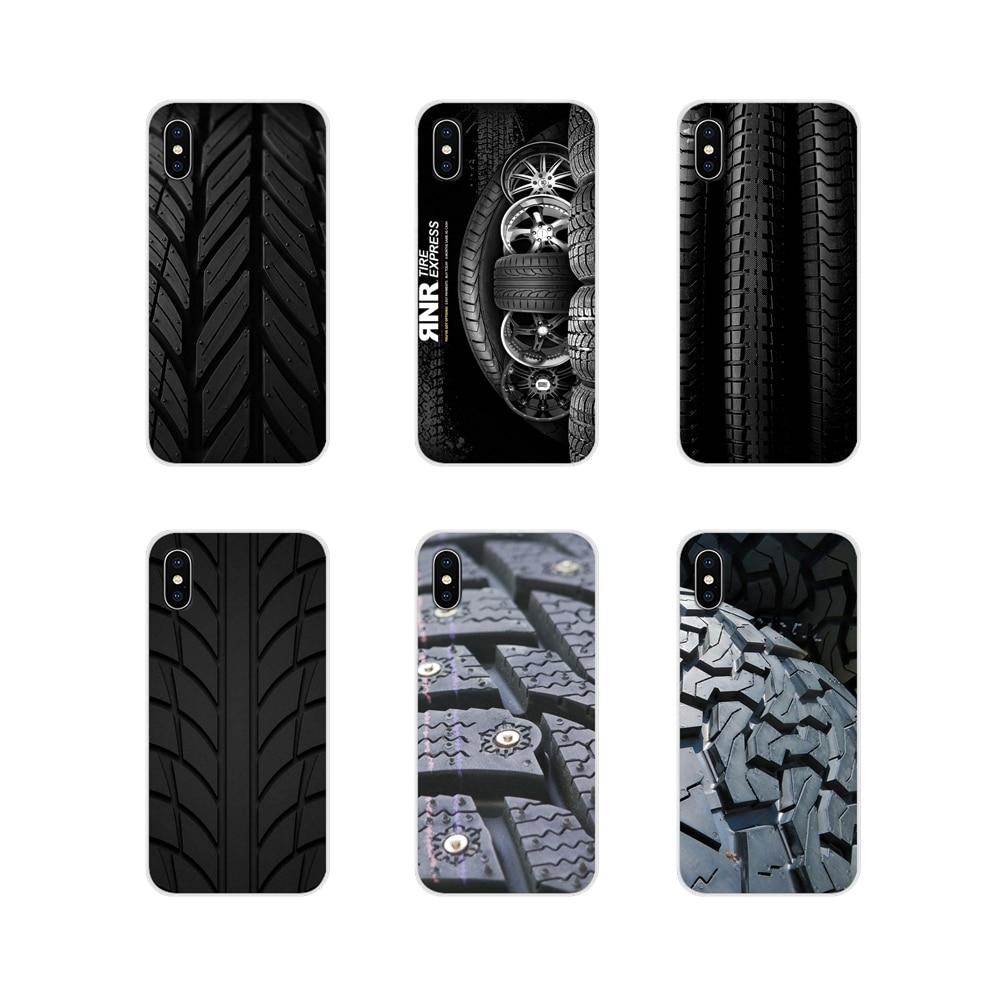 Para a apple iphone x xr xs 11pro max 4S 5S 5c se 6 s 7 8 plus ipod touch 5 6 acessórios capa de telefone legal pneu roda piso