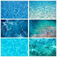 Scopiso Блестящий Фон с изображением побережья голубого моря, с рисунком в виде водной ряби фон для фотосъемки с изображением океан морская для взрослых и детей для маленьких мальчиков и девочек портретный фон для студийной фотосъемки