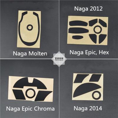 1 Набор 3M стикер для ног мыши коньки для Razer Naga Molten Naga Epic 2012 Hex Epic Chroma / Naga Epic Chroma 2014 MMO