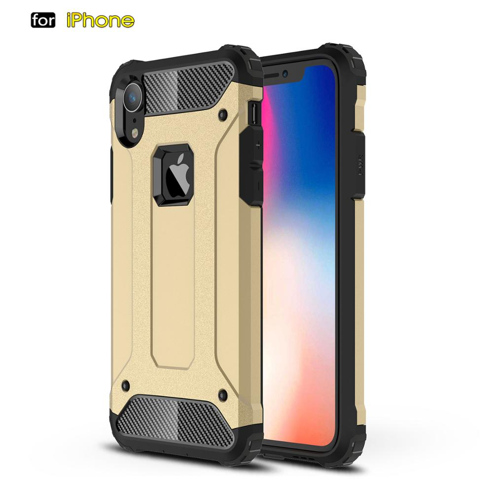De goma Robot armadura teléfono caso para iPhone 7 8 Plus 5S SE 6 6S 6 Plus iPhone 6S Plus X XS X max XR iPhone 11 pro max shell cubierta de protección