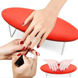 High Quality Detachable PU Leather Nail Arm Rest Microfiber Smooth Manicure Hand Pillow Manicure Equipment