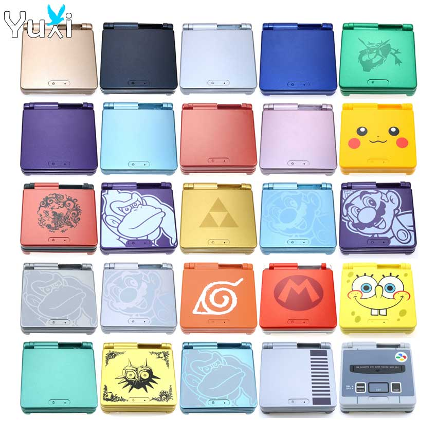 AliExpress - YuXi For GameBoy Advance SP Classic Limited Edition Replacement Housing Shell For GBA SP Housing Case Cover