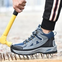 indestructible ryder shoes men and women steel toe cap work safety shoes puncture proof boots lightweight breathable sneakers