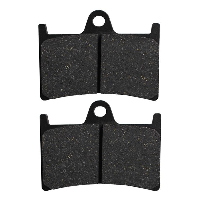 Front and Rear Brake Pads for Yamaha XV1700 XV 1700 Road Star Warrior 02-09 XV1900 Raider XV 1900 Stratoliner 2004-2014