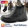 Safetoe – chaussures de sécurité S3 avec embout en acier bottes de travail légères et respirantes imperméables en cuir pour hommes et femmes