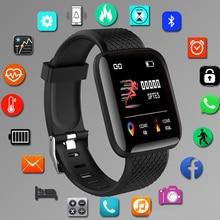 Hodinky-reloj deportivo inteligente Digital para hombre y mujer, pulsera electrónica led con Bluetooth, reloj de fitness