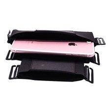 Chaud Invisible portefeuille taille sac Mini poche pour clé carte téléphone Sports en plein air ceinture sac caché sécurité coques de téléphone