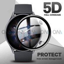 5D Soft Glass Protective Film For Xiaomi Huami Amazfit GTR3 GTR-3 GTR 3 Pro GTR 2 2E Smart Watch Ful