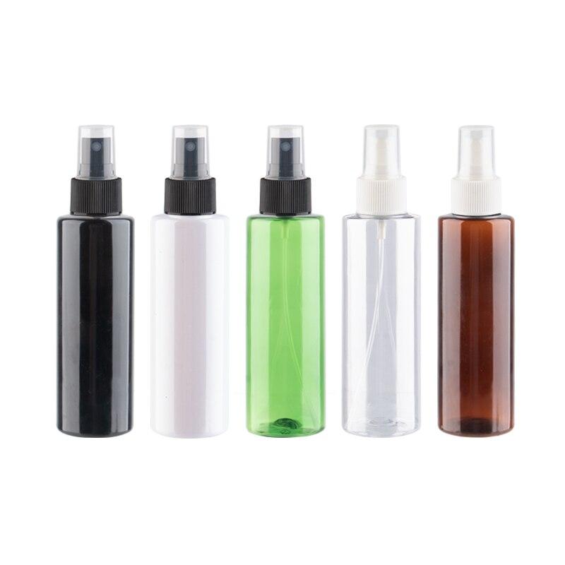 Vazio Spray De Garrafa De Plástico Para Água do Banheiro Perfume Bomba de Pulverizador Recipiente Para Embalagem de Cosméticos 150ml De Limpeza De Toner 25pcs