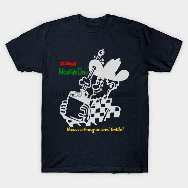 Camiseta de hombre Vintage camiseta de rocío de montaña camiseta de mujer