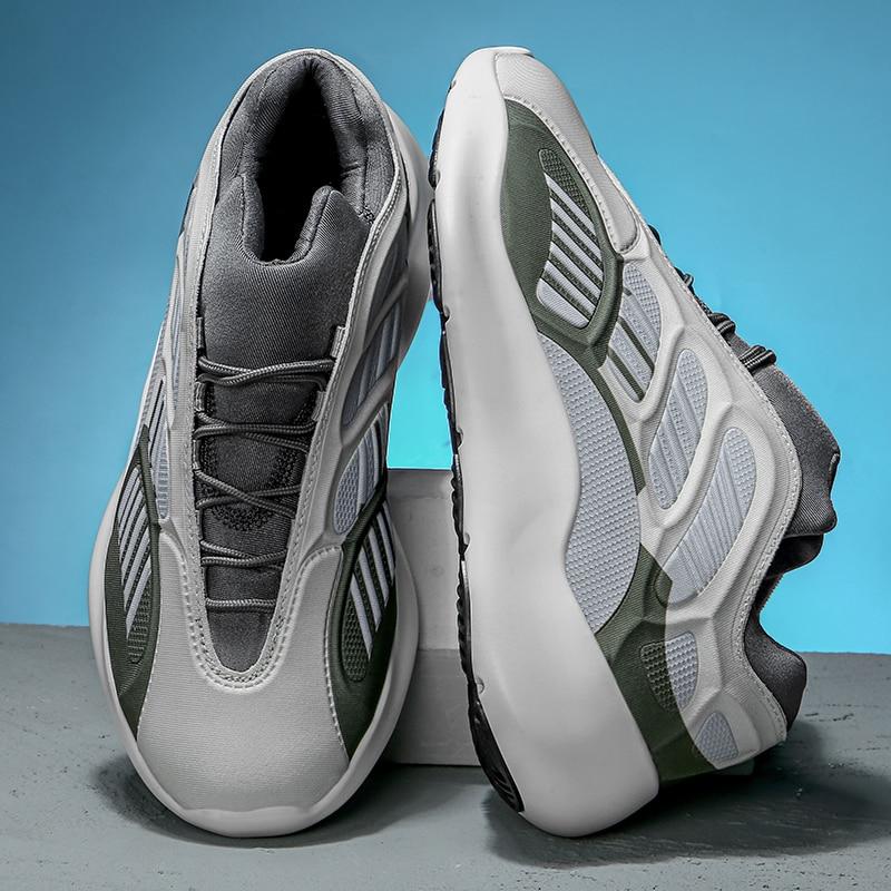 Primavera 2020 nuevas llegadas zapatos de hombre 39 s de marca de lujo zapatillas de alta calidad casual de moda Zapatillas deportivas tendencia runing hip hop