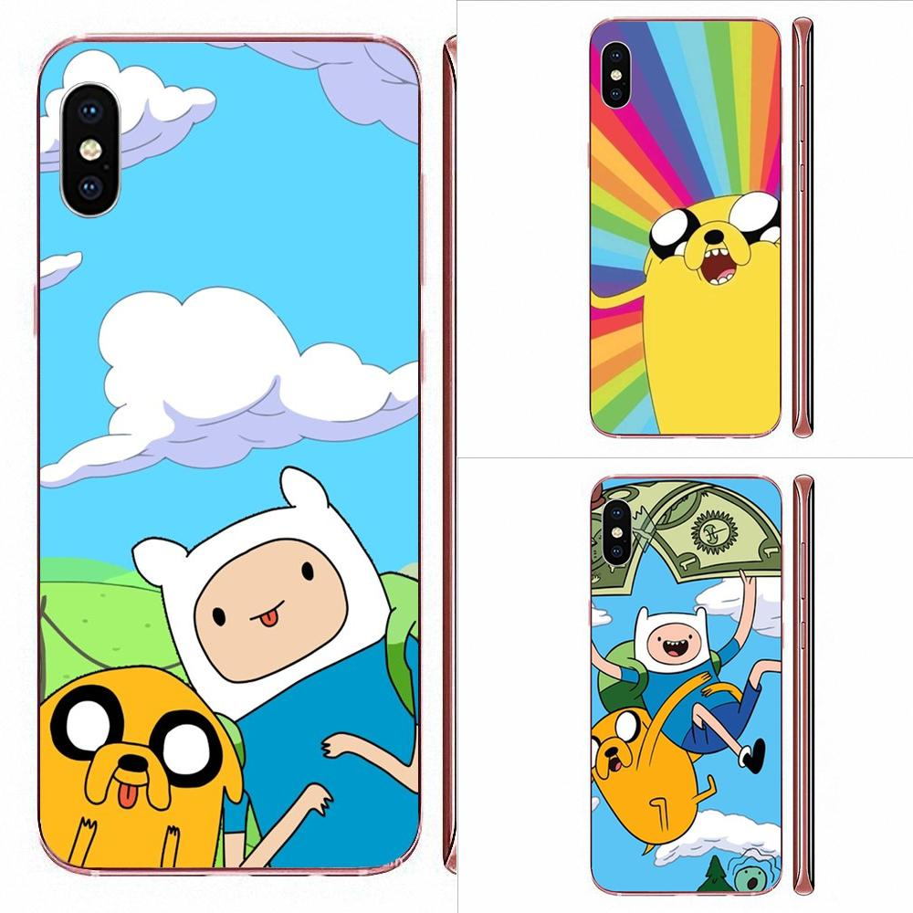 TPU de la piel del teléfono para Xiaomi Redmi mi10 lite Pro Nota 9 PRO Max 9s Mi9 K30 K20 Pro 5G tiempo de aventura con Finn y Jake Bmo