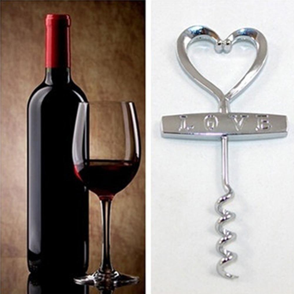50%, штопор для вина HOTLove в форме сердца, пробковый винтовой штопор, открывалка для свадебной вечеринки
