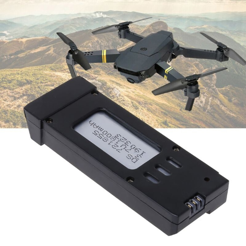Upgraded 3.7V 1800mAh Lithium Battery Compatible with Eachine E58 L800 JY019 S168 Drone X Pro RC Qua
