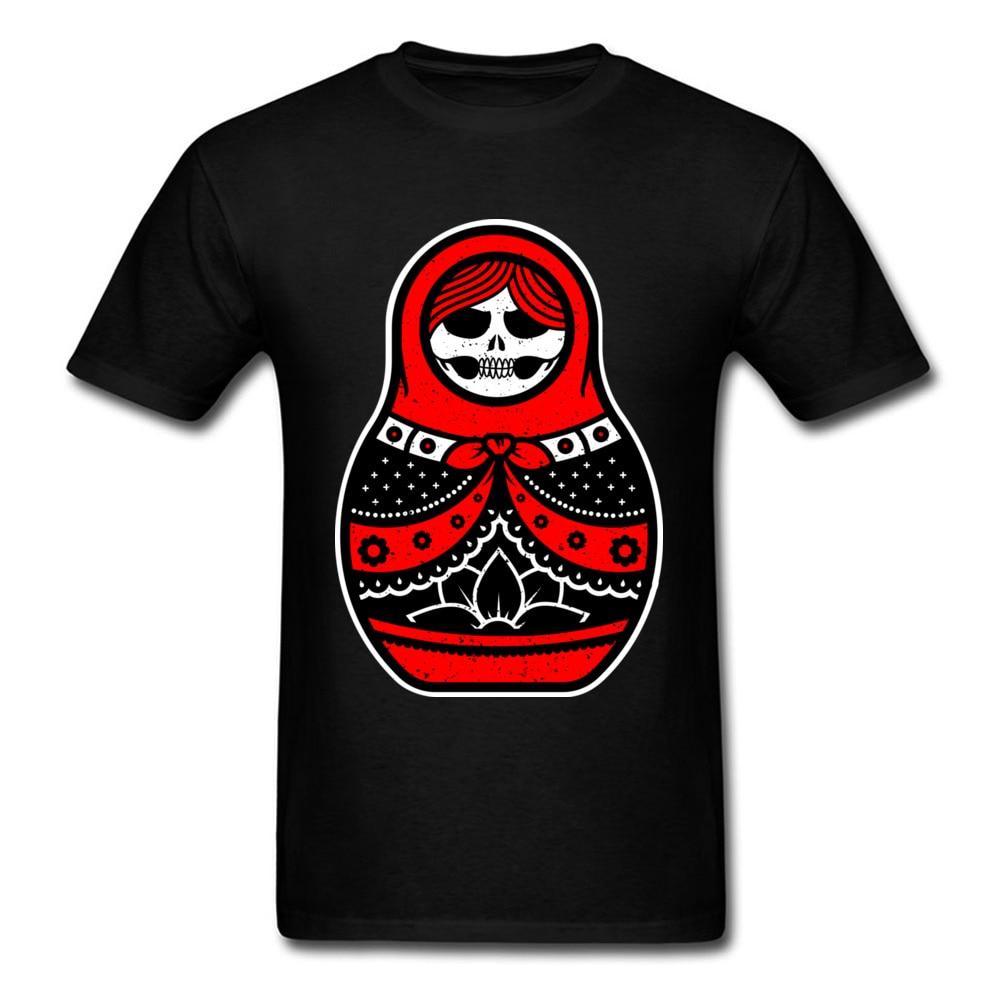 Camiseta exclusiva de diseño de Matryoshka rusa para hombre y camisetas de...