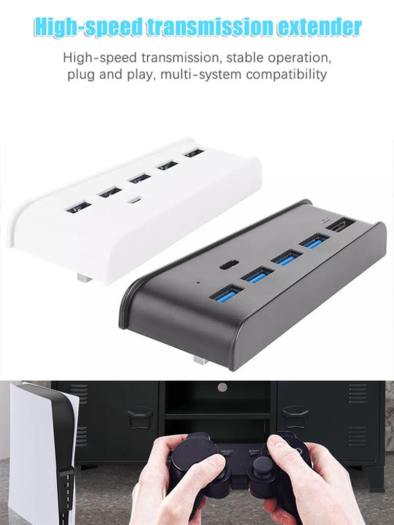 Hub USB DE alta velocidad para consola DE juegos, adaptador divisor Digital...