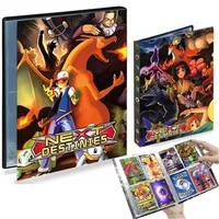 4 Pocket 240 Card Pokemon Album Binder Large Livre Pokemon Map Anime Card Collectors Holder Book Capacity Folder Kids Toy Gift