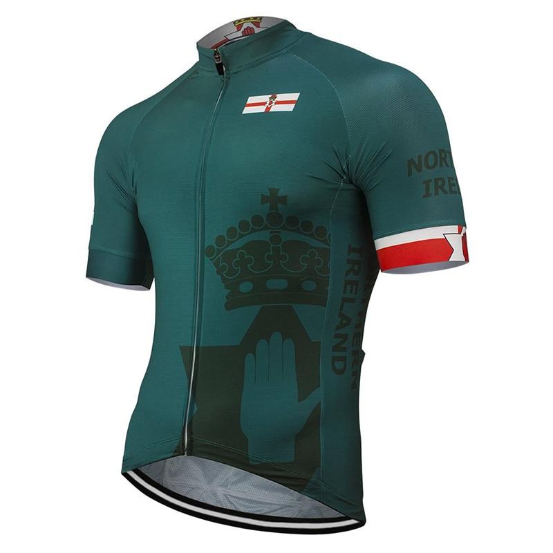 Лето 2021, Северный горный велосипед, шоссейная гонка, короткий рукав, Мужская велосипедная майка, одежда для гонок на заказ, быстросохнущая о...
