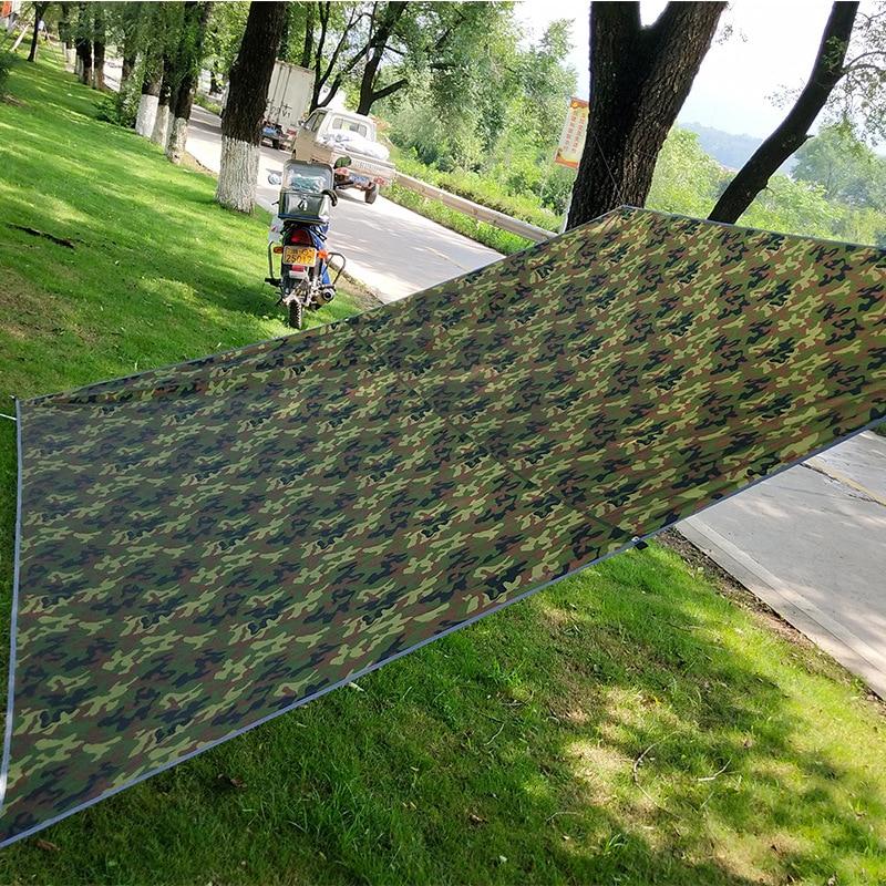 Toldo ultraligero de camuflaje para acampar, refugio al aire libre para el...