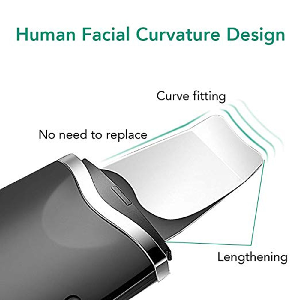 Ultrasonic Deep Face Cleaning Machine Skin Scrubber Peeling Blackhead Remover Pore Cleaner Exfoliator Facial Care Lifting Tools enlarge