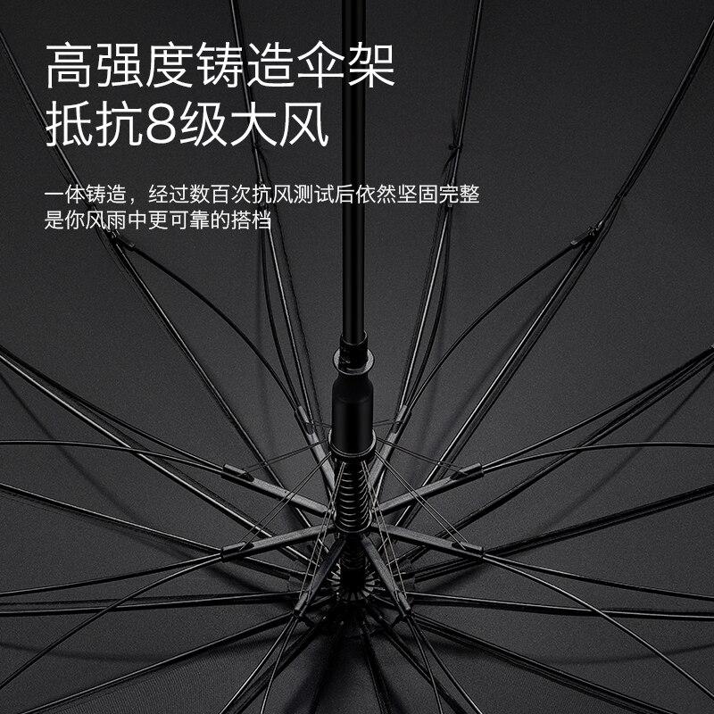 Fashion Long Handle Umbrella Large Uv Protection Windproof Business Adult Umbrella Luxury Sombrilla Playa Rain Gear BD50UU enlarge