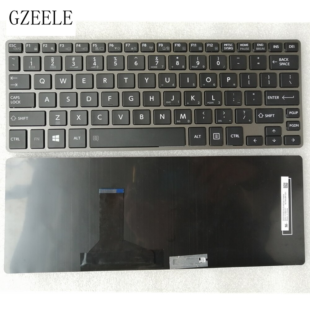 GZEELE لوحة المفاتيح الجديدة ل توشيبا Portege Z30-A Z30-B Z30-C Z30T-B Z30T-A الأقمار الصناعية Z30-A Z30t-A QWERTY لنا لوحة المفاتيح