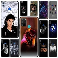 silicone soft phone case cover for honor 8x 9x 10 lite 20 30 pro 20e 20s6 15 30i play 9a luxury shell michael jackson