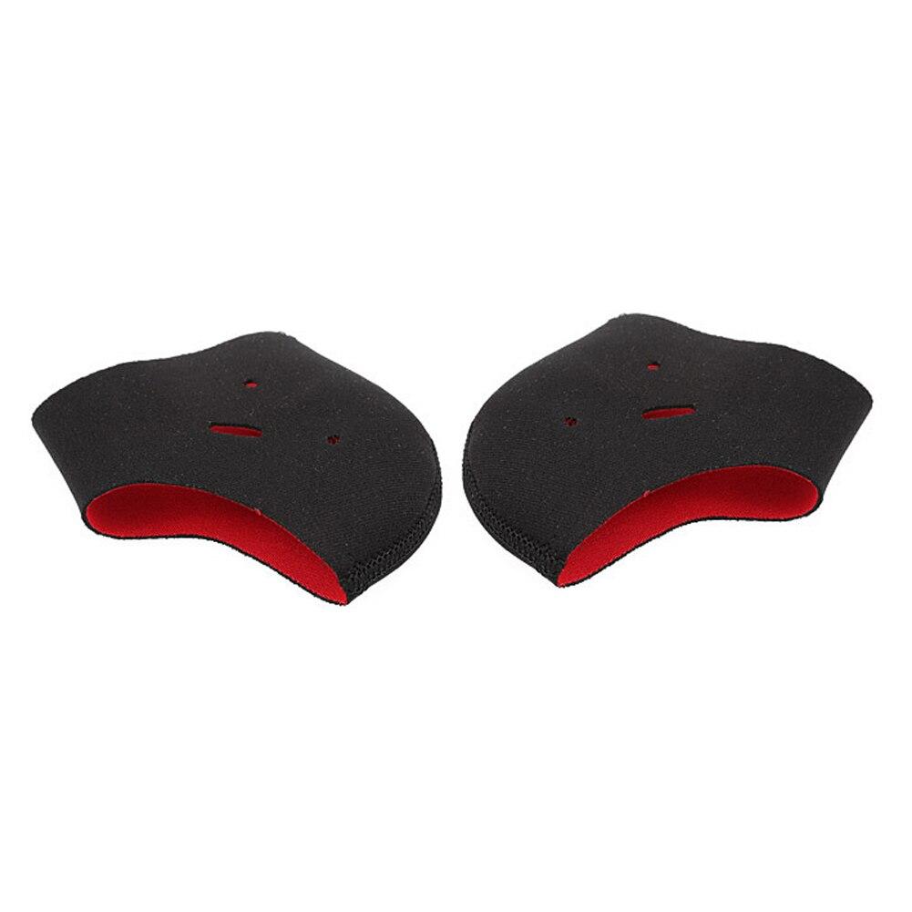 1 par de cuidados com os pés alívio da dor massagem anti cracking forros protetores meias calcanhar suporte macio hidratante anti deslizamento reutilizável
