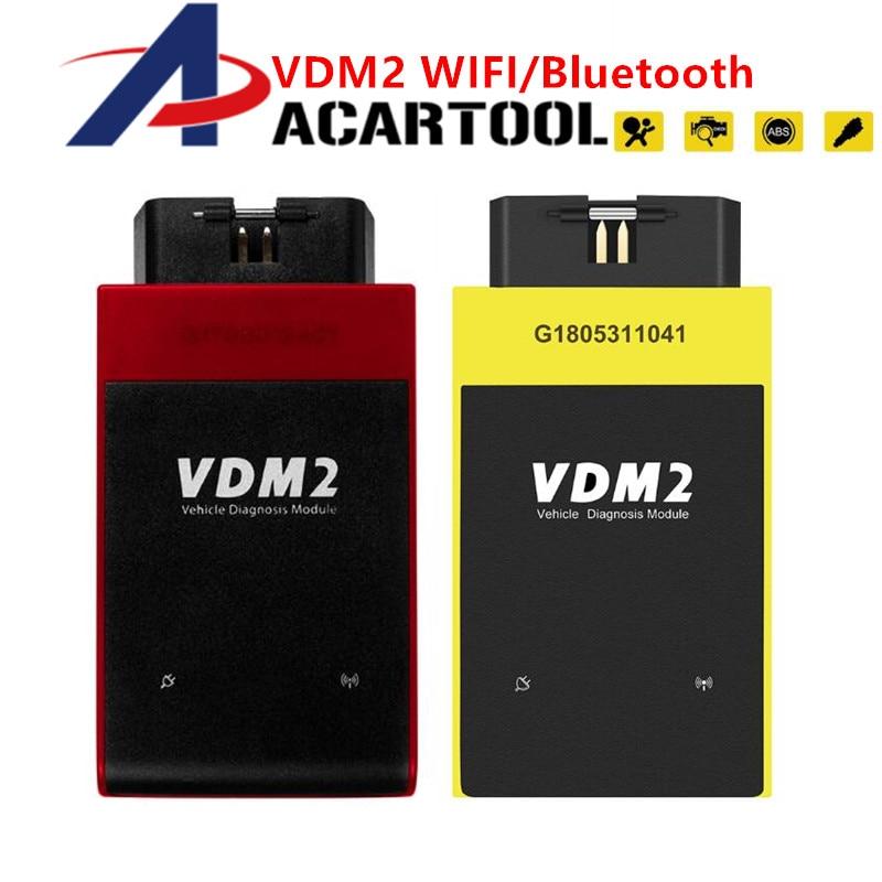 Original UCANDAS diagnostic tool VDM II Wifi & Bluetooth Automotive Scanner VDM2 V5.2 Support Multi-Language and Android System