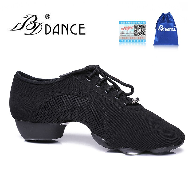 TOP BDDANCE zapatos de baile latino zapatos de mujer Jazz moderno Oxford paño antideslizante suela de goma BD JW-1 sudor duradero libre de liquidación