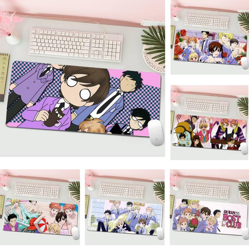 Оран клуб, блокированный край, Мышь игровой коврик Мышь Pad XL Большой геймер клавиатура PC стол коврик планшетный компьютер Мышь pad
