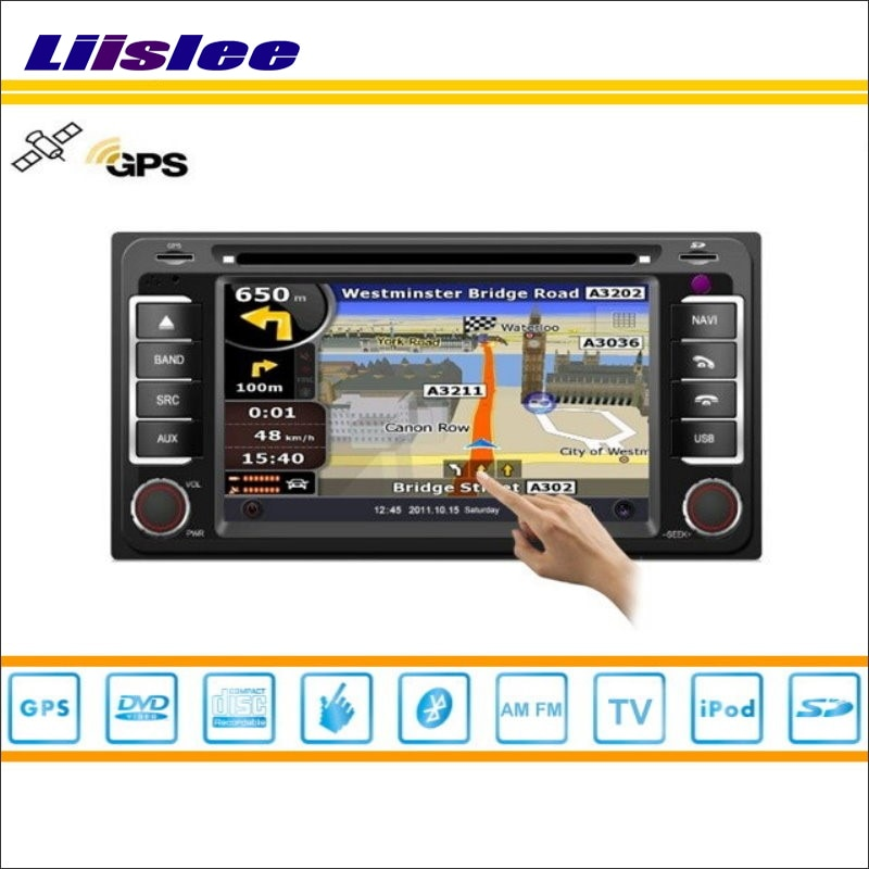 Liislee para Toyota Regius Ace 2004 ~ 2013-reproductor de DVD para coche, navegación GPS NAVI, Radio Estéreo, CD, iPod, BT, sistema Multimedia de pantalla HD