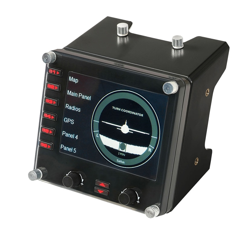 Multi-Instrument Panel LCD Panel Flight Simulation Controller for Rotki Flight Instrument Panel