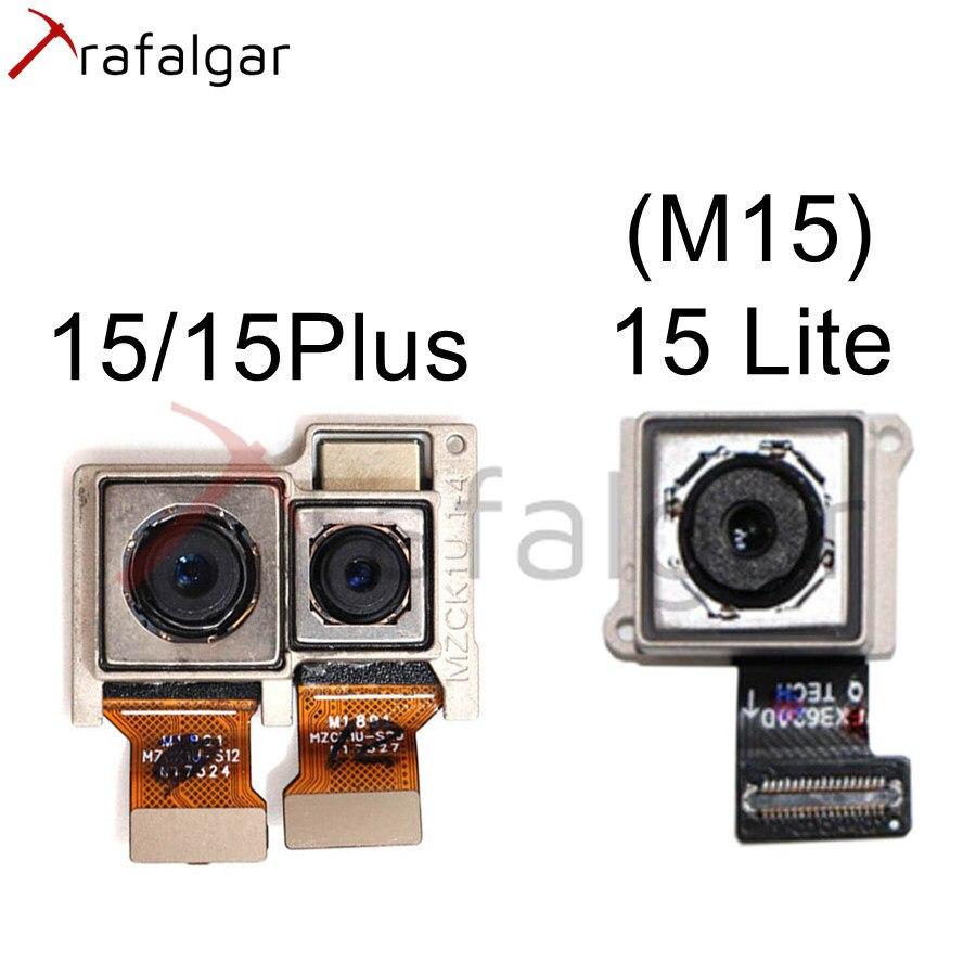 Para MEIZU 15 Plus cámara trasera M15 doble cámara principal grande para Meizu 15 Lite cámara trasera módulo Flex Cable reemplazar M871H M881Q M891Q