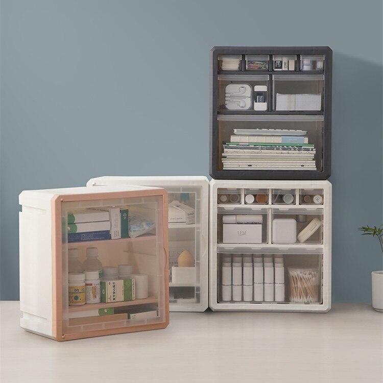 الإبداعية متعددة الوظائف سطح المكتب صندوق تخزين مكتب منظم صندوق مدرسة مكتب القرطاسية الملحقات سطح المكتب البند فرز التخزين