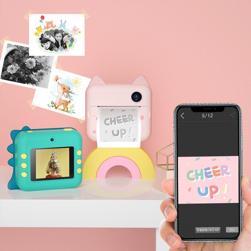 Children Camera Instant Camera For Kids Digital Video Camera For Children Photo Camera Toy Camera For Girl Boy Birthday Gift enlarge