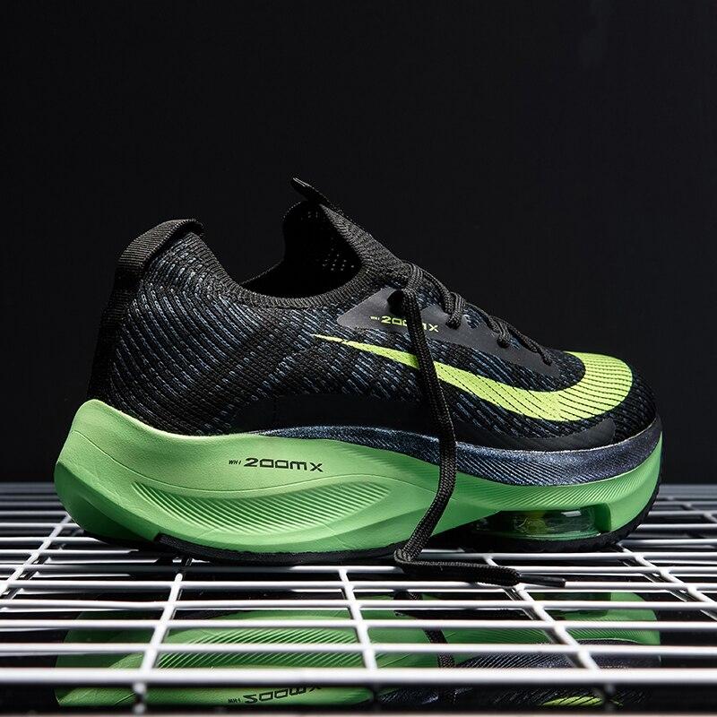 حذاء ZOXO للركض, حذاء ZOXO جديد للرجال حذاء كاجوال كوري مضاد للإنزلاق خفيف ممتص للصدمات حذاء رياضي يسمح بالتهوية Zapatos BALCK