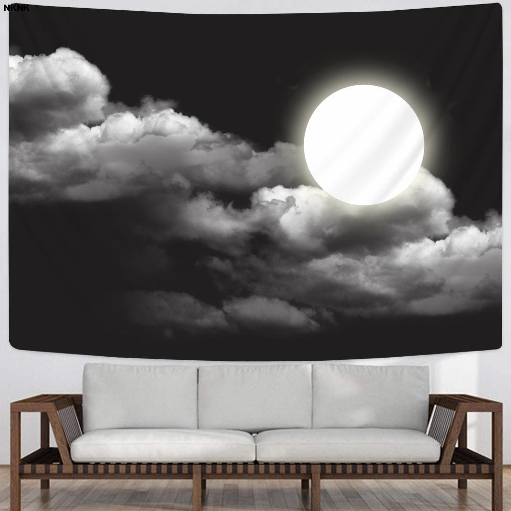 NKNK психоделический гобелен ночные гобелены Луна домашние гобелены Декор Бохо Декор хиппи Новый