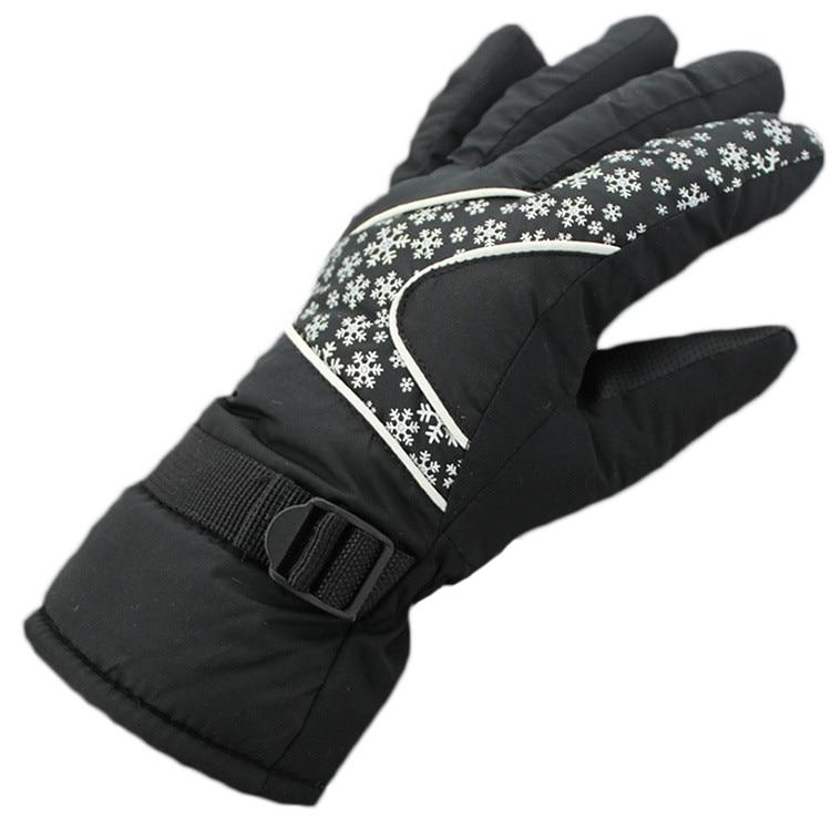 Перчатки для пешего туризма ветрозащитные лыжные женские кемпинговые снаряжения с пальцами лыжный с подогревом Держите сноуборд водонепр...