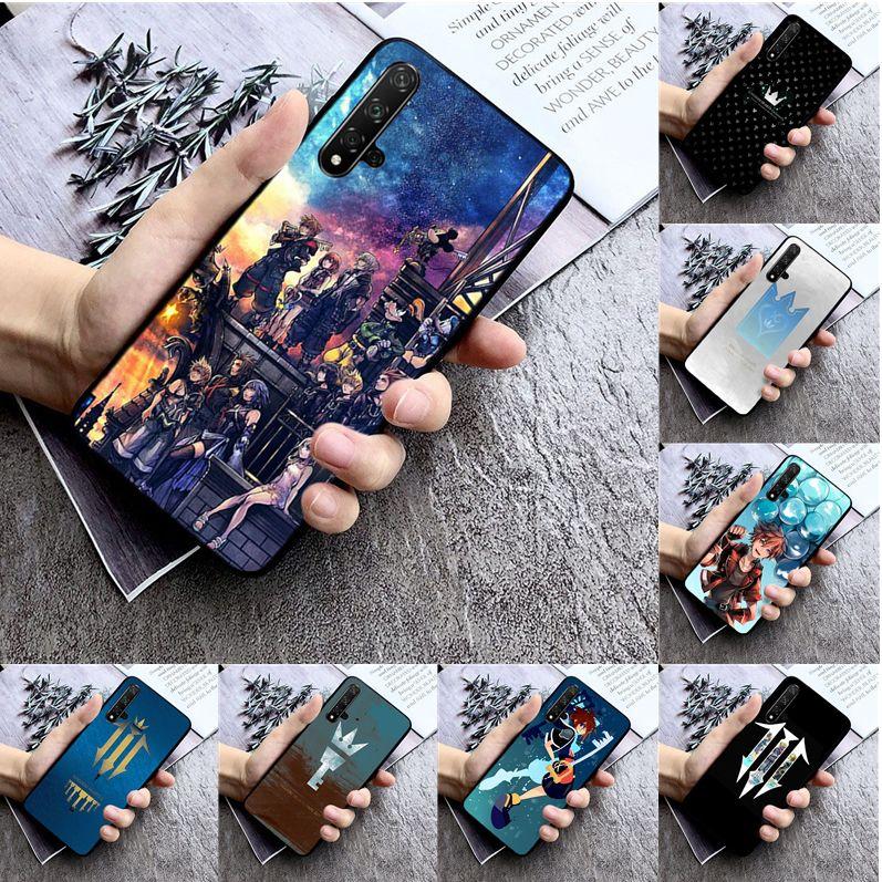 Amine Kingdom Hearts High Quality Phone Case for huawei nova 2 2i 2plus 2s 3i 3e 4 4e 5 5i pro case