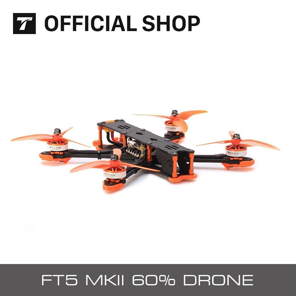 """T-мотор FPV FT5 MKII 60% Дрон 4S/6S Рамка Поддержка DJI воздуха вращающегося вала для RC Fpv гоночный Квадрокоптер свободного типа """"сделай сам"""" небольшой г..."""