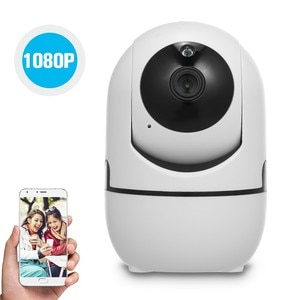 Home Security 1080P WiFi Camera Wireless IP Camera Baby Monitor with Motion Detection Tracking Voice Alarm 2-way Audio