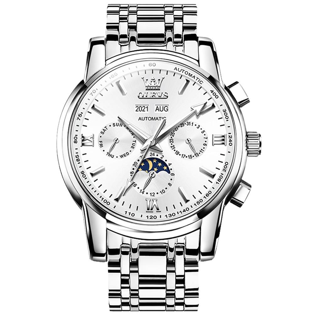 Top Brand Luxury Men Pilot Watch Automatic Fashion Original Mens Mechanical Watches Waterproof Multi